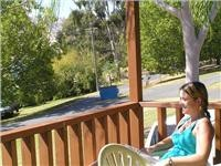 Relaxed living, Lake Hume Tourist  Park, Deluxe cabins