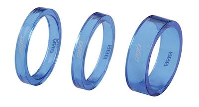 TransSpace 1-1/8 2X 5mm 1X 10mm  Blue Trans
