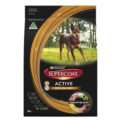 Supercoat Active Beef Purina