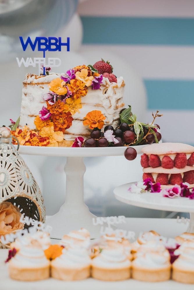 Waffle Cake Ideas Engagement Party