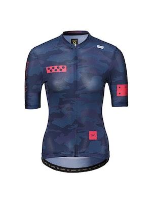 Pedla RideCAMO / Women's LunaLUXE Jersey - Navy