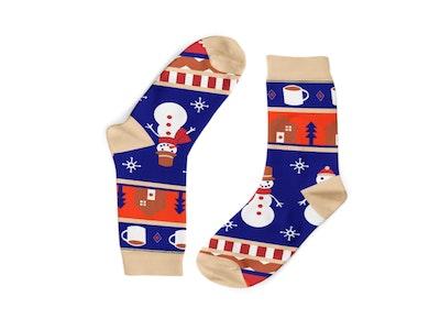 Frozen Snowmen Socks