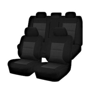 Premium Car Seat Covers For Mitsubishi Lancer Cj Series 2007-2011 Sedan | Black