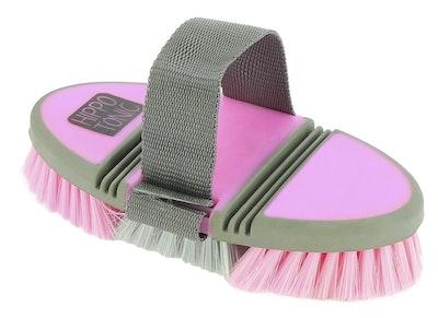 "Hippotonic ""Softgrip"" Flexible Nylon Dandy Brush"