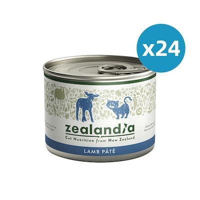 ZEALANDIA Lamb Pate Cat Wet Food 185g x 24