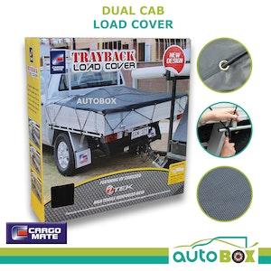 Dual Cab Ute Load Cargo Cover Heavy Duty Trayback Net Mesh UV Stabilised