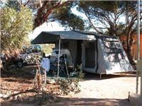 Lightweight Cub Camper in tow Jenny & Geoff take long-way home via Western Australia