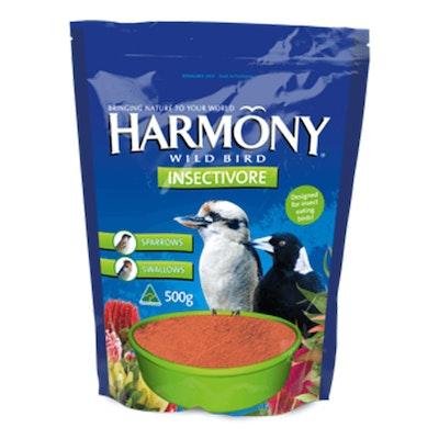 Harmony Wild Bird Insectivore Protein Bird Feed Mix 5 x 500g