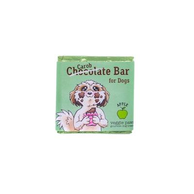 Veggie Paws Chocolate (Carob) Bar for Dogs - Apple