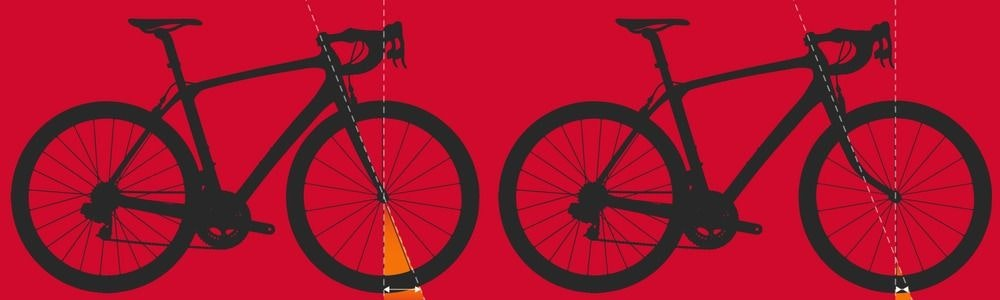 fullpage Trail via fork rake Geometry charts explained BikeExchange