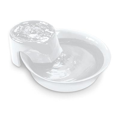 Pioneer Pet Pioneer Big Max Ceramic Pet Drinking Fountain - 3.7 Litres (White)
