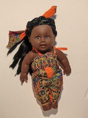 Designed by Florence Kamaria Tokunbo Doll