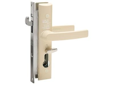 Lockwood 8654 Security Door Lock No Cylinder in Primrose