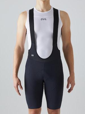 Givelo Men's Black Ultra Hd Bib Shorts
