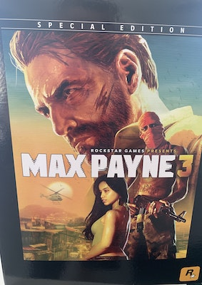 *ULTRA RARE* Max Payne 3 Special Edition PS3 *Brand New!! & Never Opened!!* AUSTRALIAN RELEASE!!