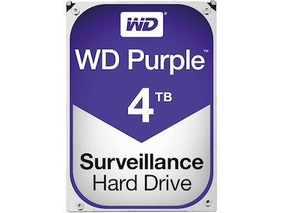 Western Digital (WD) 4TB Purple series hard drive (HDD)