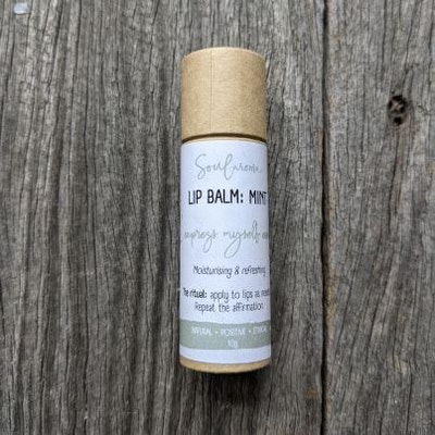 Soularoma Natural lip balm : mint