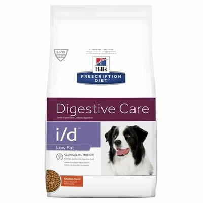 Hill's VET Hill's Prescription Diet I/D Low Fat Digestive Care Dry Dog Food
