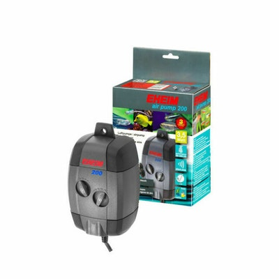 Eheim Air Pump 200L/H Adjustable Flow With Airline & Difuser