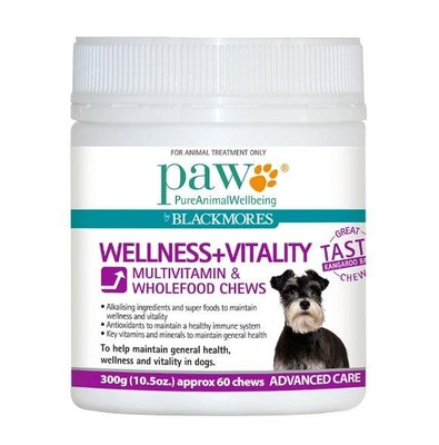 Paw Wellness+Vitality 300g Chews