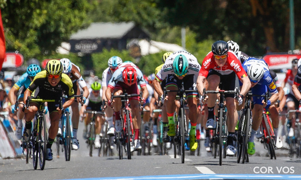 Tour Down Under Stage One Race Recap