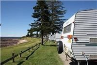 Seaside camping courtesy Shellharbour Beachside