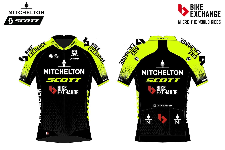 BikeExchange Aparecerá en la Jersey del Equipo Mitchelton-SCOTT en el Tour de Francia 2020