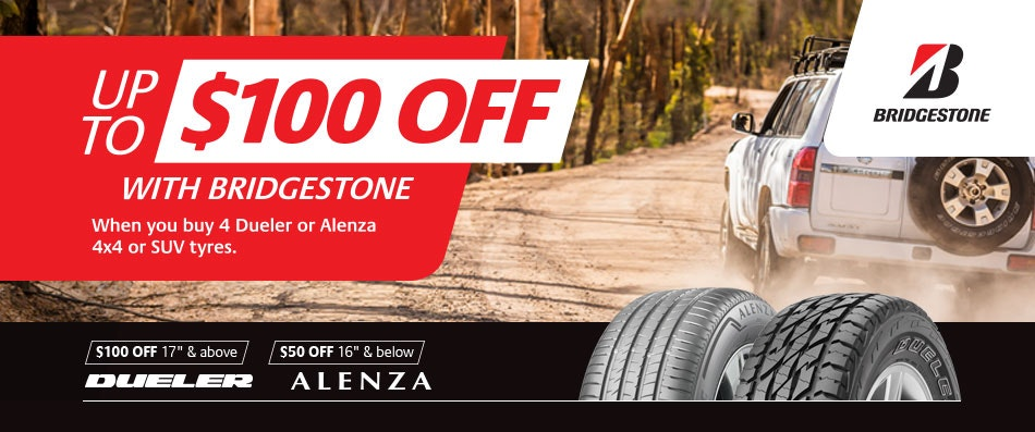 Bridgestone Cash Back