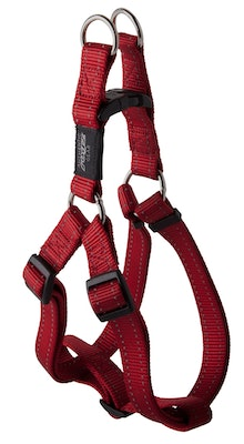 Rogz Classic Step In Harness Red