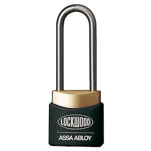 Lockwood Safety Lockout Padlock - 312EL38/BK/KA LOTO Padlock