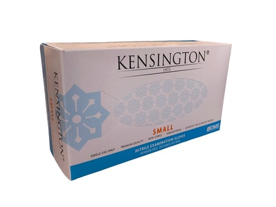 Nitrile Gloves Powder Free Kensington Sky Blue