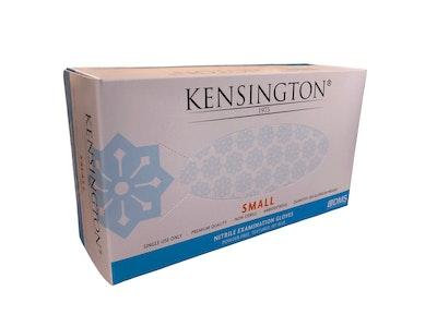 Nitrile Gloves Powder Free Kensington Sky Blue