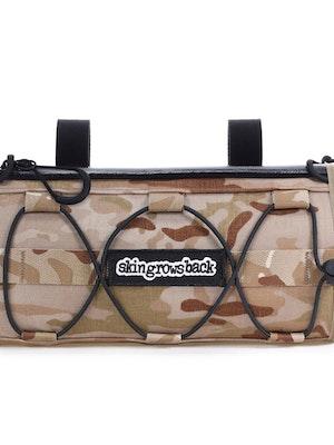 skingrowsback LUNCHBOX Handlebar Bag MultiCam Arid