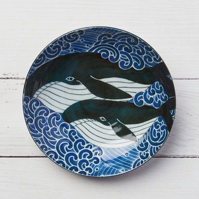Shokunin Store curry & pasta plate whale