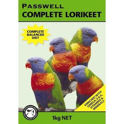 PASSWELL Complete Lorikeet Food Formula  1kg