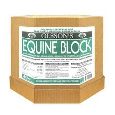 Olsson Equine Block Horses Calcium Deficiency Treatment 16kg
