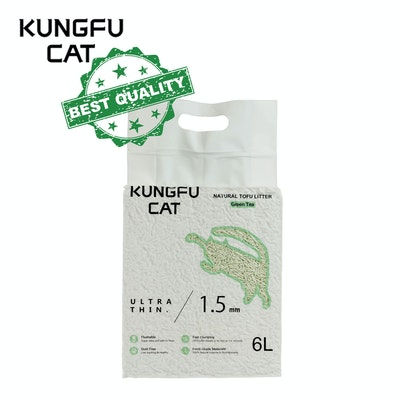 Kungfu CAT Tofu Litter Green Tea 6L