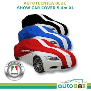 Show Car Cover Indoor Dust fits to 5.4m Blue New X-Large HSV Commodore VE VF