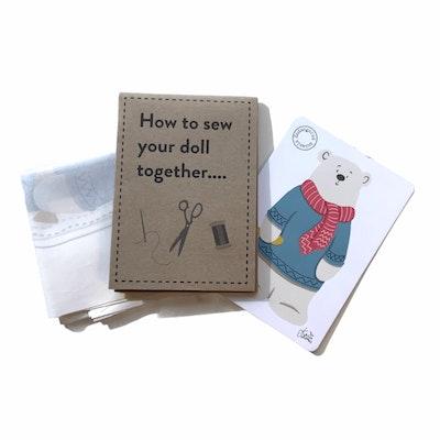 Karen Erasmus Designs Sew Together Doll – Polar Bear