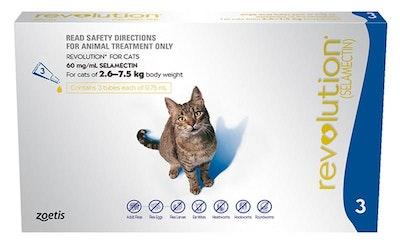Revolution Cat 2.6kg To 7.5kg Blue