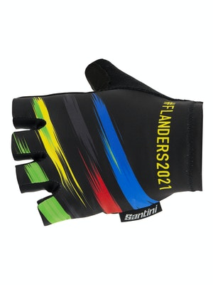 Santini Flanders 2021 UCI Gloves