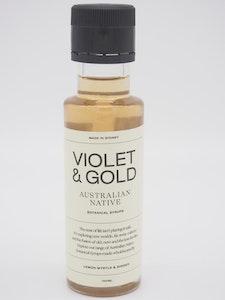 Violet & Gold Ginger and Lemon Myrtle mixer