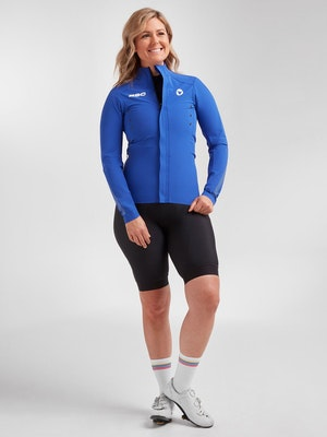 Black Sheep Cycling Women's Elements Micro Jacket - Royal