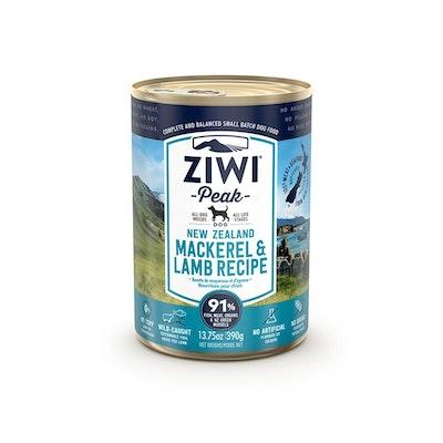 ZiwiPeak ZIWI Peak Dog Mackerel & Lamb Recipe Can 390G