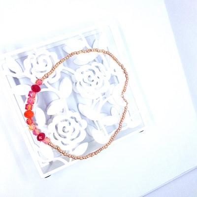 Rayhana's Store Sydney beaded handmade necklace red