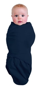 0-3M  SWADDLEPOUCH BAMBOO 0.5 TOG - NAVY
