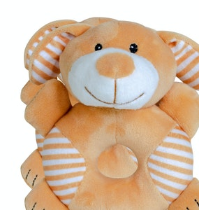 BibiLand BibiBaby Cuddle Rattle - Sandy Dog