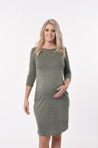 Sprout Maternity Vertical Shift Dress