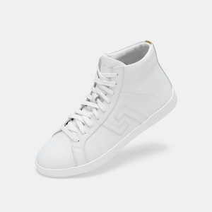 Rollie Nation Prime High Top White/Gold