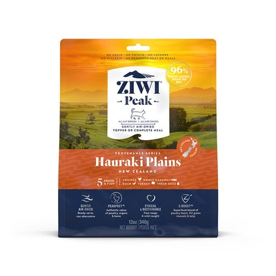 ZiwiPeak ZIWI Peak Provenance Air Dried Cat Food Hauraki Plains 340G